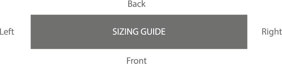 Make a mat size guide
